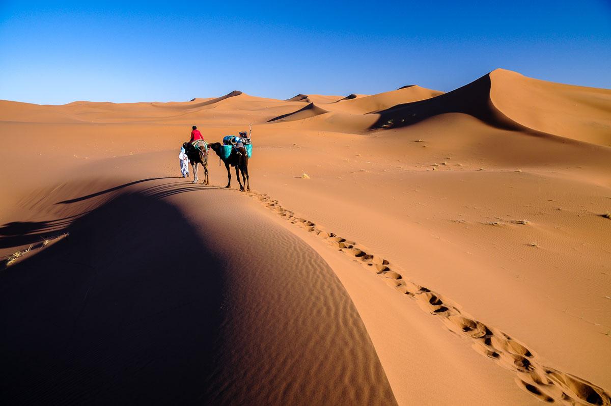 Grandes traversées du desert