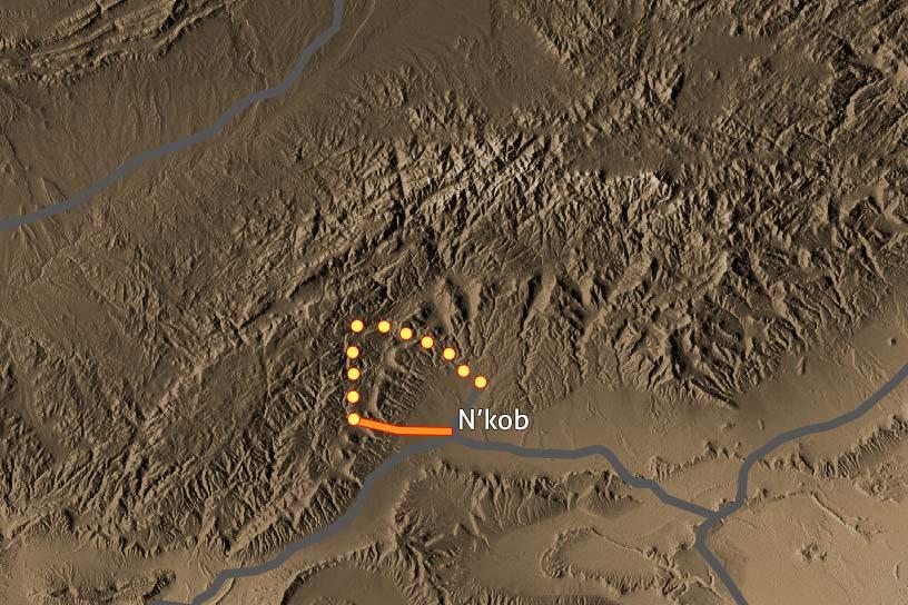 Carte Trek Saghro