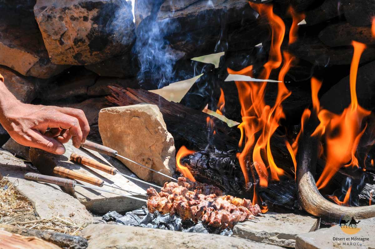 Transhumance noamds Maroc cuisine